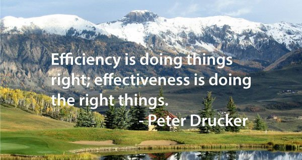 A disciplined process produces quality results. Getting it right.
