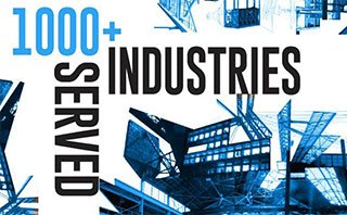 1000 plus Industries Served